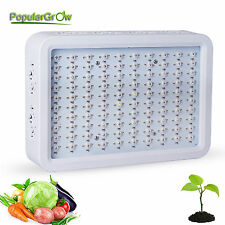 300W LED Grow Light Full Spectrum IR UV Panel For Hydroponic Grow Lighting