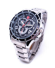 IN Watch SPY Camera 12MP HD 1080P Waterproof Voice Activated DVR Mini DV 16GB A7