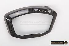 DUCATI 1098 1198 848EVO REAL CARBON FIBER GAUGE DASH BOARD COVER Dry Pre-preg