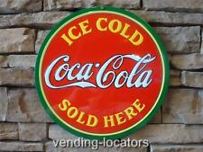 "COCA COLA 14"" Metal Soda Can COKE Machine Man Cave Garage Home Decor Sign NEW"
