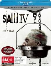 Saw IV (4) Blu-ray Discs NEW