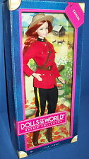 BARBIE DOLL Canada Dolls of the World  Canadian Royal Mounted Police Pink Label