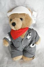 *1612*   NRMA Careflight Engineer Snap-on Bear - 29cm - Plush - tag