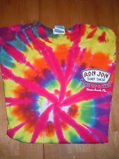 Men's Ron Jon Surf Shop Cocoa Beach FL Cotton Tie Die T-Shirt Size L