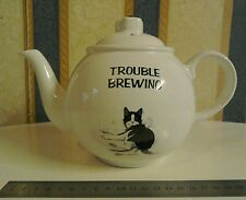 Collectable Spillers Felix The Cat Trouble Brewing Tea Pot V.G.COND