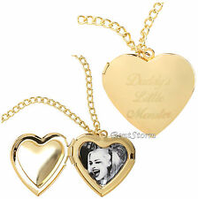 DC Comics Suicide Squad Harley Quinn Daddy's Lil Monster Heart Locket Necklace