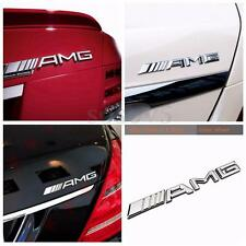 3D AMG Chrome Trunk Decal Badge Sticker Cool Emblem For Mercedes-Benz C250 E350