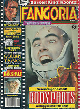 """TO SERVE THE TWILIGHT"" DEAN KOONTZ SERVANTS TWILIGHT movie in FANGORIA 8/91"