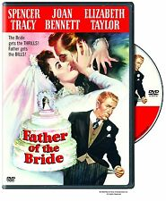 FATHER OF THE BRIDE (1950 Spencer Tracy) -  DVD - UK Compatible - New & sealed