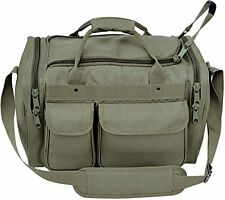 **New** Olive Drab Large Heavy Duty Padded Range Bag Pistol Hand Gun Hunting Bag