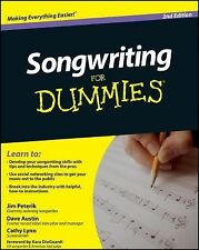 Songwriting for Dummies by Cathy Austin, Jim Peterik, Dave Austin and Cathy...