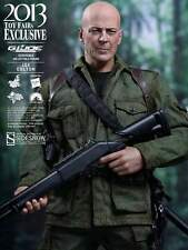 GI JOE COLTON Retaliation TOY FAIR EXCLUSIV_BRUCE WILLIS_HOT TOYS 1:6 Scale_NRFB