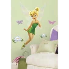 New Giant TINKERBELL WALL DECALS Disney Fairy Tinker Bell Stickers Girls Decor