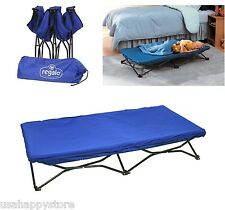 Portable Toddler Bed Cot Folding Travel Camping Beach Indoor Outdoor Kids Crib
