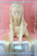 Front Lace The Hobbit Legolas Greenleaf Remarkable Blonde Cosplay Party Wig Hair