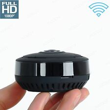 SORVEGLIANZA IR LAN IP Camera  Fisheye  Wireless 360° 1080P HD WiFi TELECAMERA