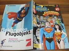 BATMAN & SUPERMAN ADVENTURES   # 1 --  DC 1997  in 1. Auflage Zustand 0-1