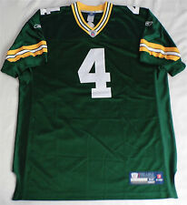 Maillot Authentic Brett Favre Green Bay Packers Jersey NFL Reebok On Field 54