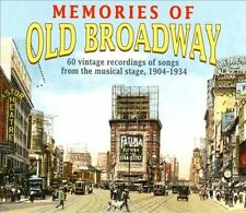 Memories of Old Broadway: 1904-1934 (CD, 2003, 3 Discs, Take Two) NEW