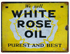 We Sell White Rose Oil Pures and Best Motor Oil and Gas Sign