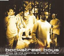 BACKSTREET BOYS - Show Me The Meaning Of Being Lonely (UK 3 Tk CD Single)