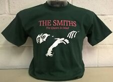The Smiths - Queen Is Dead - 'Bottle Green' T-Shirt **Limited Stock**