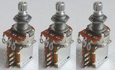 Set of 3 - Gotoh Push/Pull Pot - Metric shaft - 500 k ohm