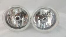 "CHEVROLET 4"" REPLACEMENT L+R FOG LIGHTS UNIVERSAL CAR TRUCK SUV SUPER WHITE SET"