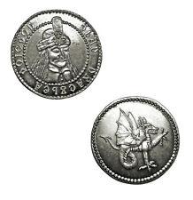 Dracula Silver Coin Collectible Vlad Dragon Impaler Vampire Transylvania New