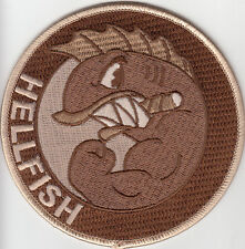 PARCHE THE SIMPSONS ABE`S SIMPSON FLYING HELLFISH DESISERTO velcro  PATCH