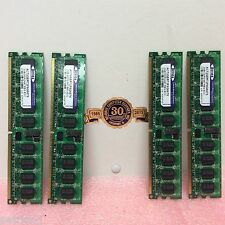 ACTICA Critical Memory Solutions LOT of 4 2GB DDR2-667 REG ECC ACT2GER72F8G667S