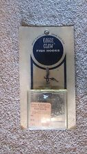 Vintage Eagle Claw Fishing Hooks - RP Pack - Size 8 - Style 374 - Bronze (G 5)