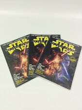 3 STAR WARS Official Lucas Film Collectors Edition Insider's Guide Force Awakens