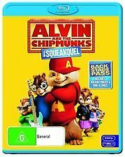 ALVIN & THE CHIPMUNKS 2: THE SQUEAKQUEL - BRAND NEW & SEALED BLU RAY SING-ALONG