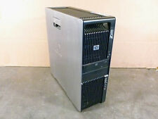 HP Z600 Workstation 2x 2.4GHz QC Xeon E5620 CPU 8GB RAM 500GB DVD Barebone  #09