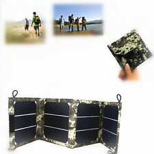 Solar sunpower 12v panel  Portable Folding  for iphone mp3/4 powerbank table pc