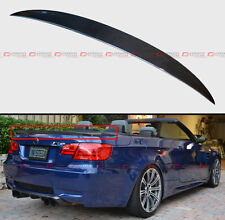 BMW E93 M3 2DR COUPE CONVERTIBLE HIGH KICK STYLE CARBON FIBER TRUNK SPOILER WING