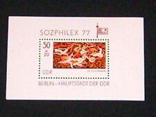 DDR 1977 Block 48 postfrisch 2249 ** Sozphilex 77