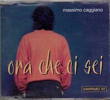 MASSIMO CAGGIANO CD SINGLE PROMO 1 traccia ORA CHE CI SEI Sanremo 1997