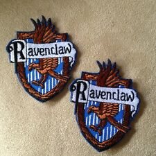 2 - Harry Potter Movie RAVENCLAW House/Crest/Shield Iron-on Logo PATCHES Badge!