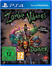 Zombie Vikings-Ragnarok Edition nuevo ps4-juego