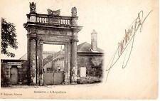 SOISSONS - L'arquebuse - La porte du magasin du Génie