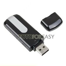 Mini USB Disk DV Spy Motion Detection Camera Hidden DVR Camcorder HD 720x480 U8
