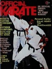 1/74 OFFICIAL KARATE FRED WREN JOHN NATIVIDAD BLACK BELT KUNG FU MARTIAL ARTS