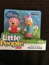Fisher Price Little People Magic of Disney Minnie & Daisy NEW