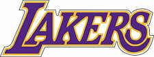 "Los Angeles Lakers  Basketball   NBA sticker, wall decor, bumper 12.5""x 5.6"""