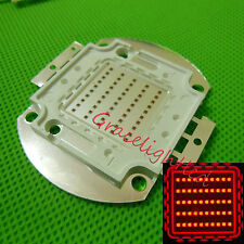 50W Deep Red 660nm -665nm high power LED Lamp Bead Chip for plant light diy