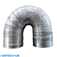 Aluminium Foil Flexible Ducting Ventilation & Hydroponic Accessory