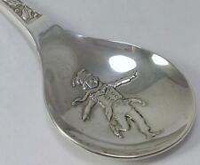 Cased Vintage hallmarked Silver Christmas Spoon – by John Pinches 1976 (29g)