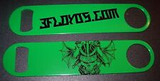 THREE FLOYDS Green Skull Logo Speed bottle OPENER craft beer brewing brewery 3